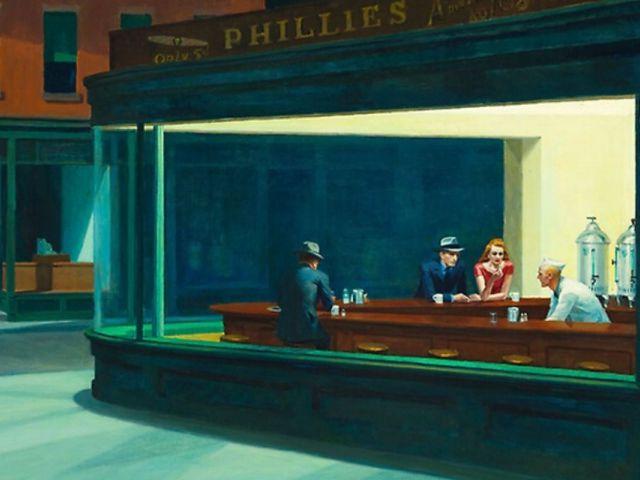 Edward Hopper y el Lienzo en Blanco